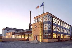 Das Faguswerk von Walter Gropius in Alfeld / Leine ist seit 2011 UNESCO-Weltkulturerbe
