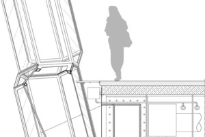 Detail Aussichtsplattform, M 1:40<br />