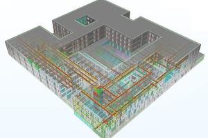 IFC-Modell Architektur und Gebäudetechnik