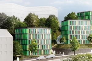 Studentenwohnheim Ostersiepen, Wuppertal<br />
