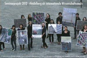 Seminarprojekt 2012, Heidelberg als internationale Wissensstadt