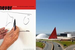Das gerade eröffnete Centro Cultural Internacional Oscar Niemeyer und die Hände des Meisters<br /><br />