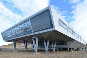European Steel Design Award 2013 Deutschland: Indische antarktische Forschungsstation Bharati