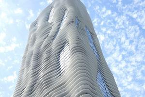 Nominiert: Aqua Tower, Chicago, USA, Architekt: Studio Gang Architects Ltd., Chicago