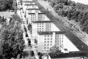 Prora 1939 kurz vor der Fertigstellung