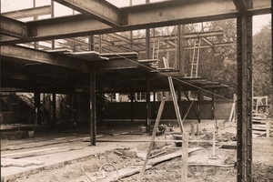 Baustellenansicht 1929<br />