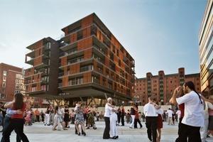 Hafencity, Hamburg/D, Umwandlung des Hafengebietes in einen neuen Stadtteil, KCAP/ASTOC<br />