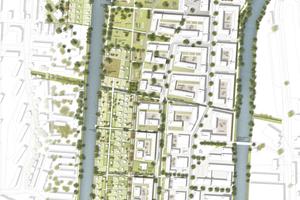 Der Masterplan des Quartiers