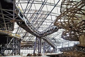 Die Primärkonstruktion – das dreidimensional verformte Raumfachwerk der tragenden Konstruktion