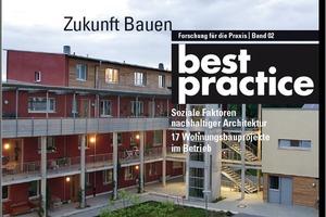 Titel der Broschüre Best Practice - Soziale Faktoren nachhaltiger Architektur
