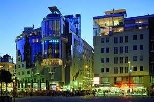 Haas Haus, Geschäftshaus, Wien, Österreich, 1985-1990 Auftraggeber: SIE-Stock Revitalisierungs. GesmbH