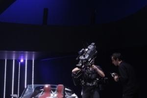 """Der """"Urban Concept Spyder"""" in TV-Nahsicht."""
