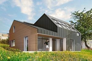 Das Maison Air et Lumière in Verrières-le-Buisson/ Frankreich wurde 2011 fertig gestellt