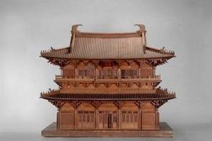 Guanyin-Halle des Dule-Klosters, (Liao-Dynastie, 984 n. Chr.), Tianjin, Jixian, China;