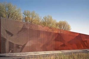 Anerkennung: Hochwasserpumpwerk am Kuhlenweg (Architektin: Ute Piroeth Architektur, Architektin BDA; Bauherren: Stadtentwässerungsbetrieb Köln)