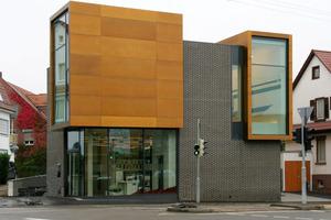 Der Galerieneubau ABTART in Stuttgart