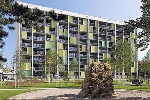 Preisträger: Grüner Wohnen – Dörflerstraße, Ingolstadt/GWG Gemeinnützige Wohnungsbaugesellschaft Ingolstadt GmbH<br /><br />