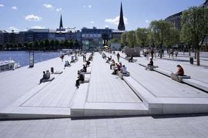 Ein erster Platz: Neugestaltung des Jungfernstiegs, Hamburg