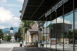 Der Werkraum, indem die Summer School stattfindet, Bregenzerwald fungiert als Schnittstelle zwischen Architektur und Handwerk