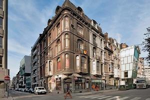 In den Bestand hineingeschoben: Das neue Theater in Lüttich