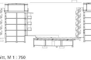 Systemschnitt, M 1:750