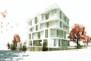 """Der Entwurf für das Smart Material Projekt """"Kartenhaus"""", mit dem die Infraleichtbetonbauweise auf der Internationalen Bauausstellung in Hamburg präsentiert werden sollte, konnte leider noch nicht realisiert werden"""