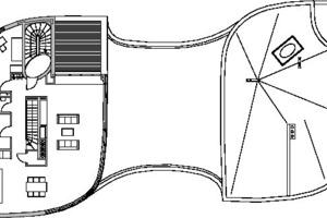 Grundriss 3. Obergeschoss, M 1:333<sup>1</sup>/3
