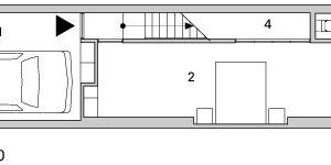 Erdgeschoss, M 1:200<br />