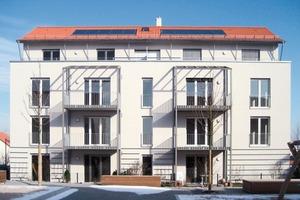 """<div class=""""5.6 Bildunterschrift"""">Die Wohnanlage in Frankfurt-Kalbach wurde im Passivhausstandard errichtet</div>"""