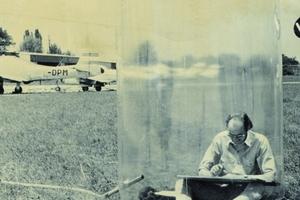 Mobiles Büro, aufblasbares Bürogebäude, 1969  (Sammlung Generali Foundation)