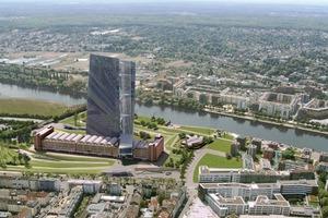Großmarkthalle, Frankfurt, Planung seit 2006, Coop Himmelb(l)au mit Bollinger und Grohmann<br />