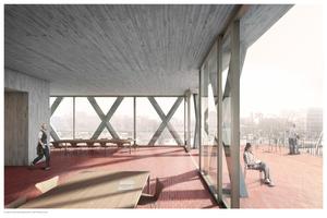 1. Preis: ARGE KIM NALLEWEG Architekten und César Trujillo Moya, Architekt, Berlin