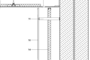 Detail Wandanschluss, M 1:20<br />
