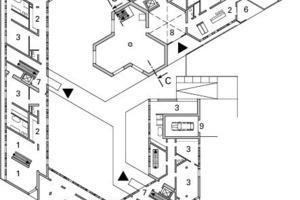 Erdgeschoss, M 1:750<br />