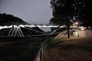 Nachtaufnahme vom Südufer