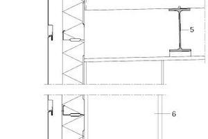 Fassadenschnitt, M 1:20