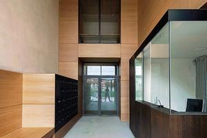 Eingangsbereich mit Pförtnerhaus