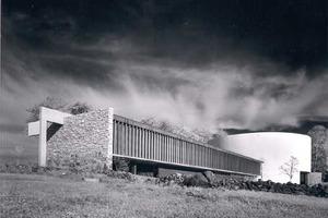 Besucherzentrum Gettyburg, 1962 - Richard Neutra und Robert Alexander