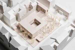 Platzierung des Neubaus im Stadtraum