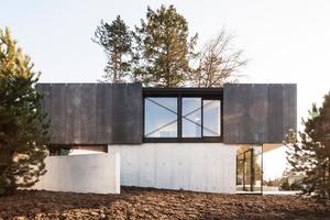 Haus in Riehen Frontal, Reuter Raeber Architekten