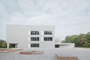 Preisgekrönt: Hessenwaldschule Weiterstadt Verfasser: Wulf Architekten GmbH, Stuttgart Bauherr: Da-Di-Werk, Eigenbetrieb für Gebäude- und Umweltmanagement des Landkreises Darmstadt-Dieburg