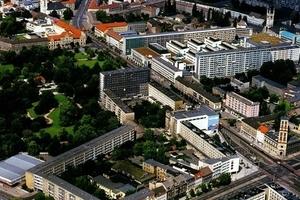 Das Wettbewerbsgebiet in Dessau