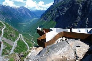 Trollstigen – Touristensteig - Reiulf Ramstad Arkitekter AS, Oslo