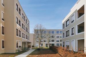 Es sind 104 Wohnungen entstanden. Das gesamte Projekt wurde im KfW70 Standard errichtet