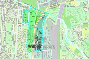 Das zu bebauende Quartier in Hamburg Wilhelmsburg