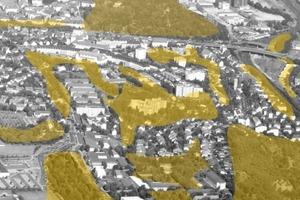 """Ankauf des Würzburg-Projektes """"Helianthus"""" von Francisco Parrón Ortiz, Domingo Melendo Arancón, mit Fernando López Barrientos (alle Spanien) (hier im Ausschnitt)<br />"""