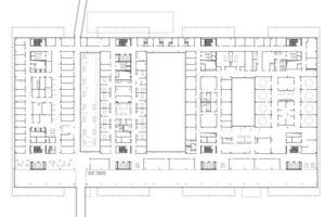 Grundriss 1.Obergeschoss, M 1:1500