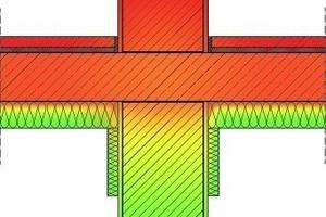 Ψ-Wert: 0,370 W/(m·K), gefordert: 0,470 W/(m·K); U-Wert: 0,223 W/(m<sup>2</sup>K)