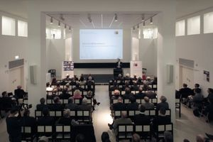 Feier- und Redezeiten im DAM, anlässlich der Preisverleihung
