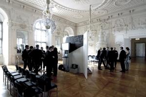 Netzwerk-Lounges: Gespräche über Hightec in historischer Kulisse